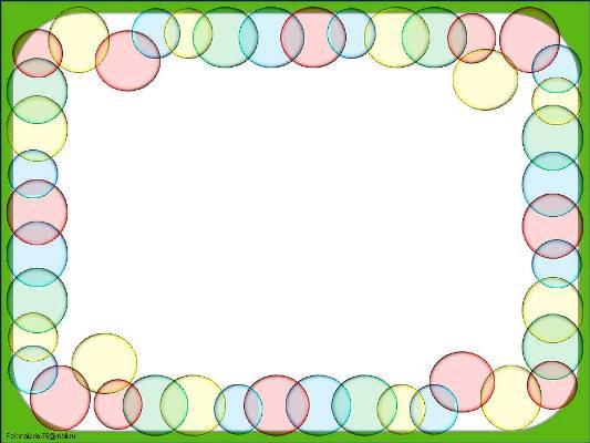 Шаблон фон презентации шарики